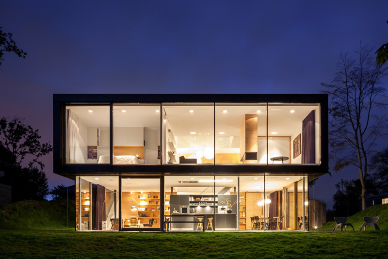 VILLA V by Paul de Ruiter Architects and i29 interior architects