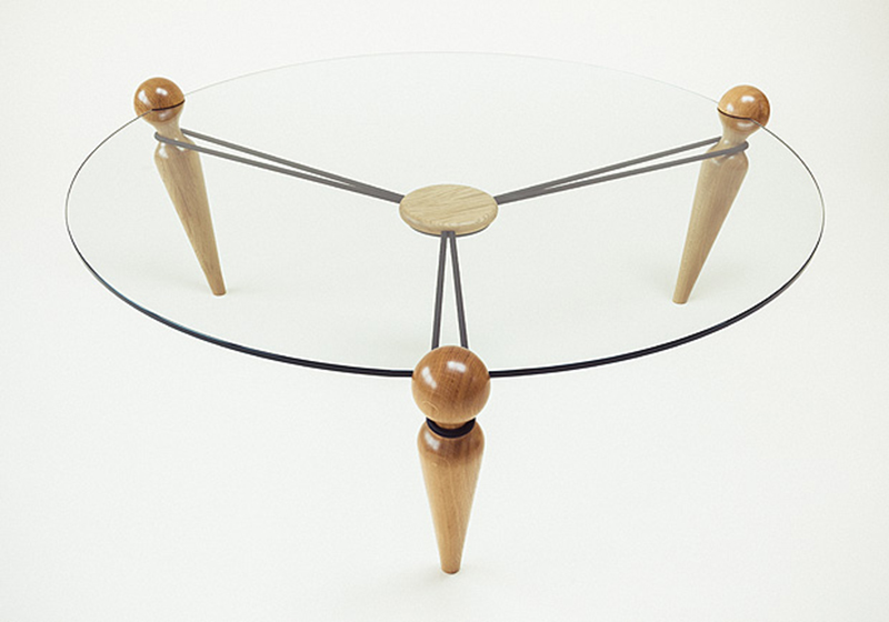 Bareppa Coffee Table by Henry Swanzy