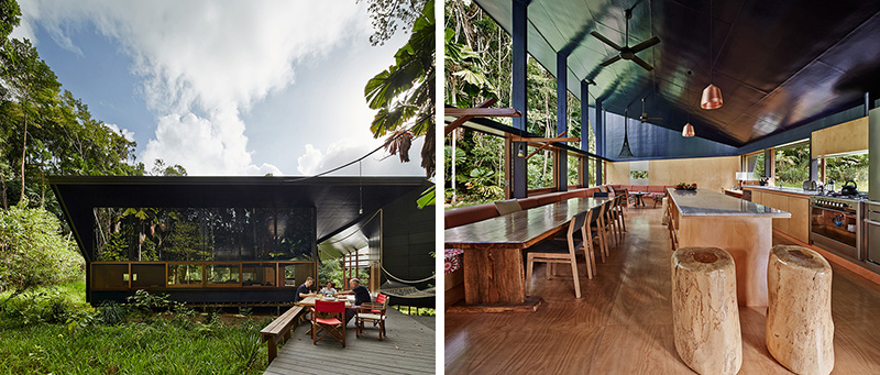 A House Designed For Life In A Tropical Rainforest