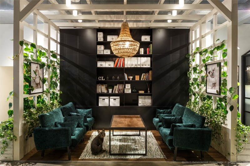 These interior designers have completed their own office so lets