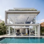 Pitsou Kedem design a home of concrete and glass