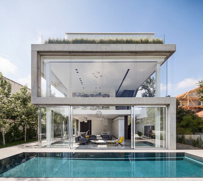 The Concrete Cut House by Pitsou Kedem