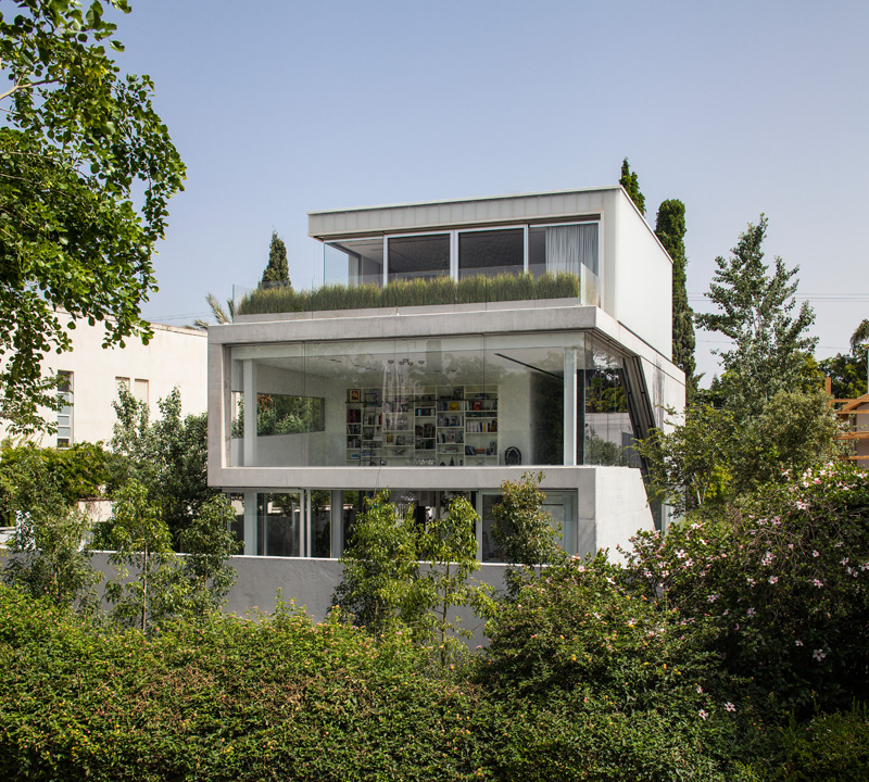 The Concrete Cut House by Pitsou Kedem