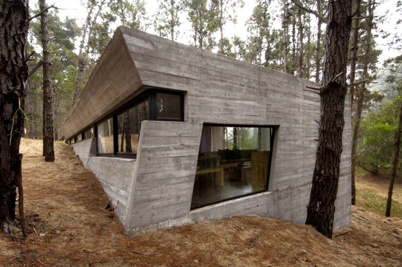 11 Concrete Homes From Around The World