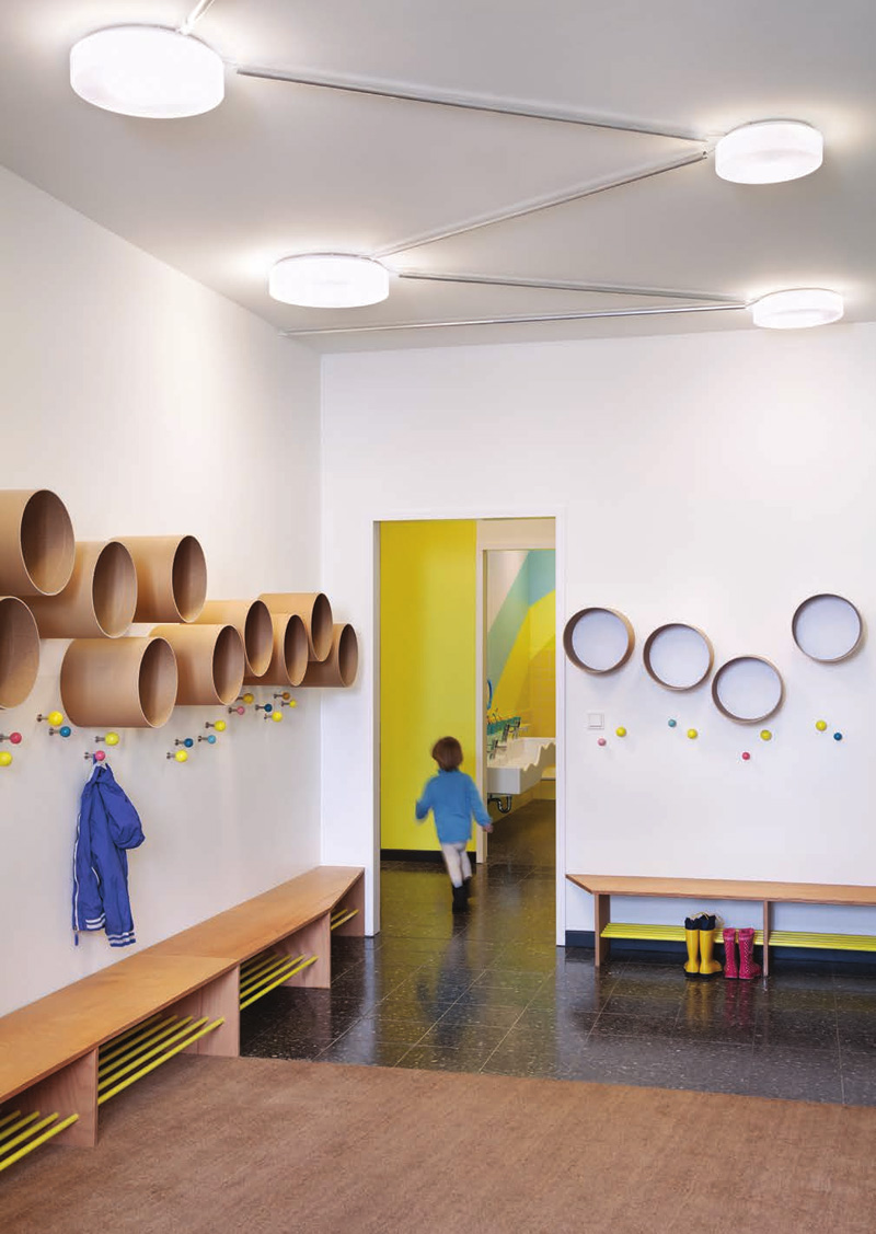 Modern Preschool Classroom Furniture : Baukind have designed a new daycare filled with fun