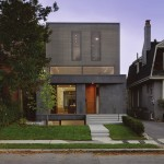 Paul Raff Studio have designed a light filled home for a family of four in Toronto