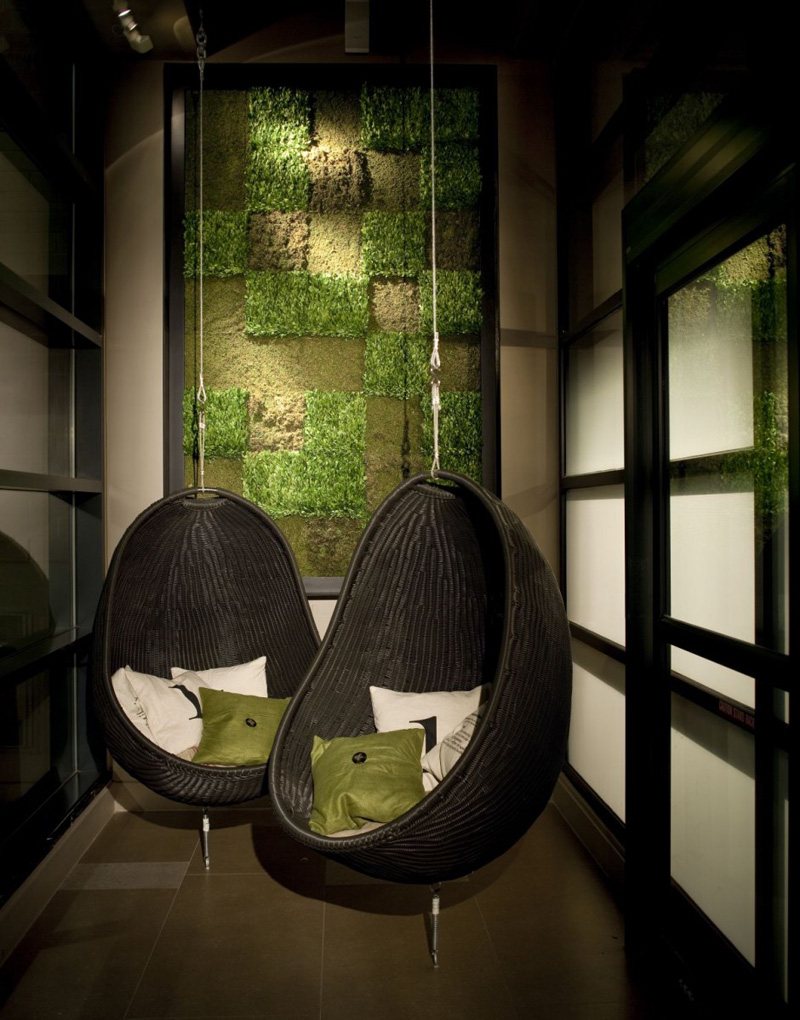 10 Photos Of Hanging Chairs