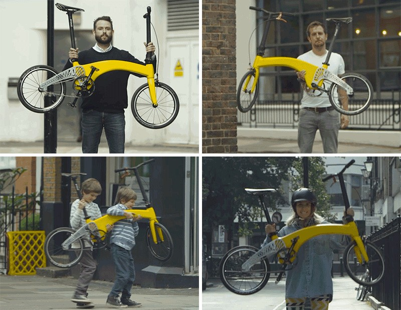 World's lightest folding bike