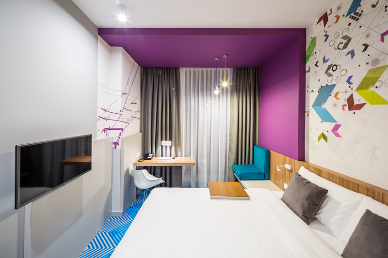9 photos of the vibrant Ibis Styles Hotel in Lviv, Ukraine