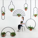 Katerina Kopytina has designed an astronomy inspired planter collection