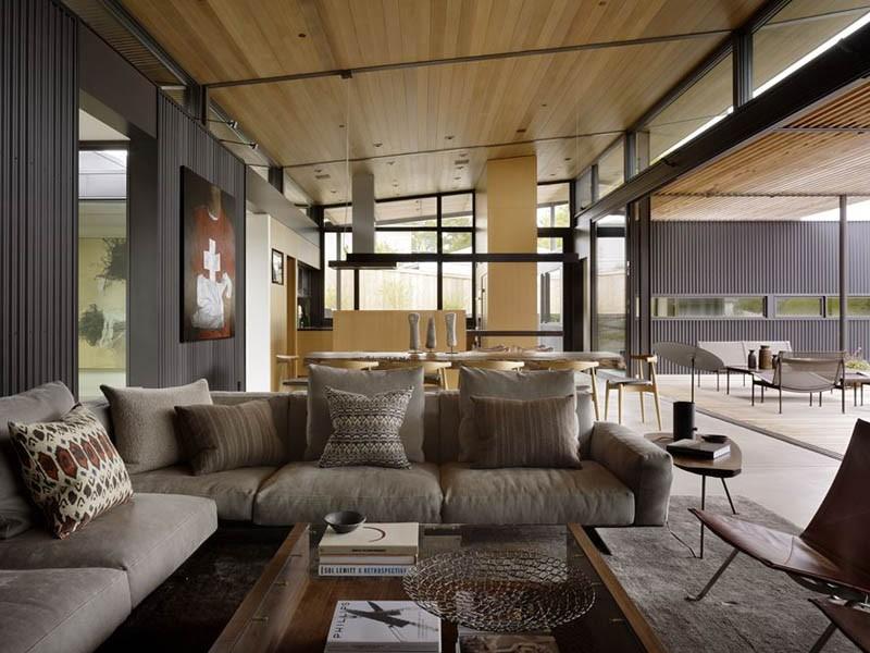 Modern house in California