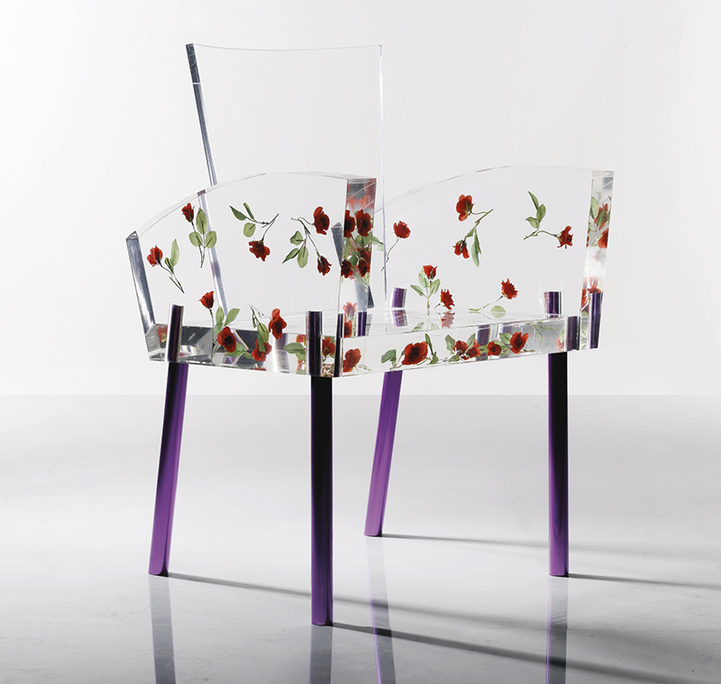 'Miss Blanche' Armchair by Shiro Kuramata