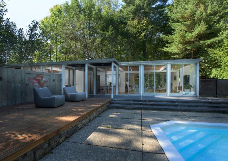 Chestnut Hill Modern Renovation by Hammer Architects