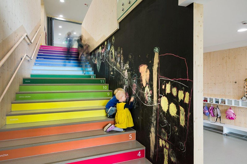 Incroyable Numbers On Stairs Help Kids Learn To Count