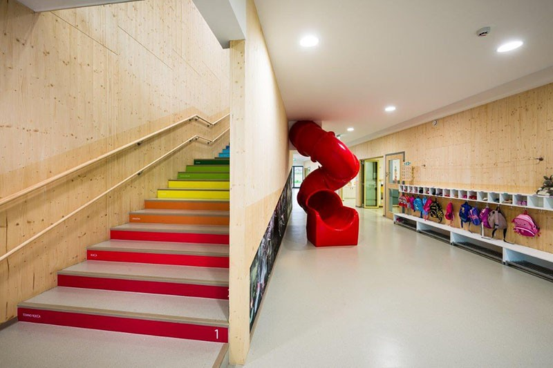 Design Detail Numbers On Stairs Help Kids Learn To Count