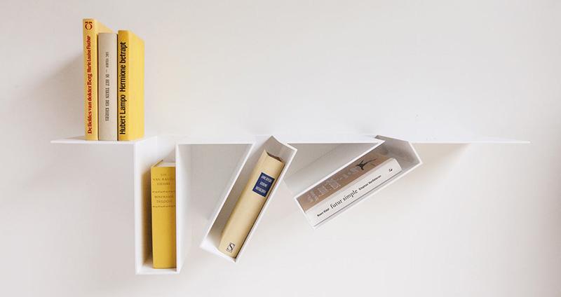 Oblique Shelf designed by Filip Janssens