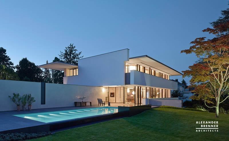The sol house by alexander brenner architects for Moderne villen deutschland