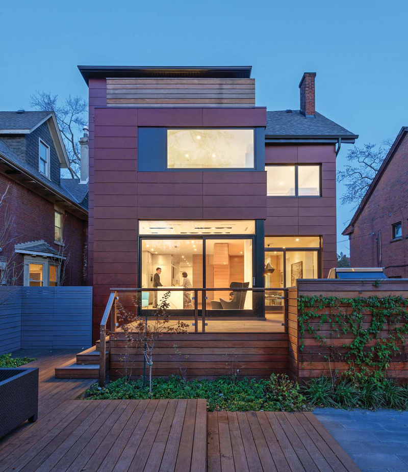 Home in Toronto, Canada, designed by Dubbeldam Architecture + Design