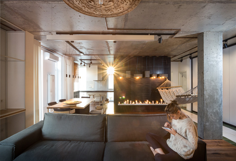 The True Apartment in Kiev, Ukraine, designed by SVOYA studio