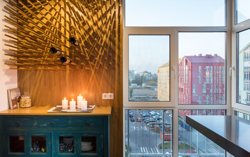 The True Apartment in Kiev, Ukraine, designed by SVOYA studio