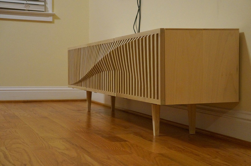 TV Console by Haldun Kececigil