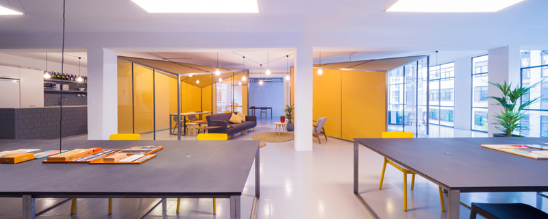 ZAMNESS Office Space by nook architects