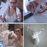 How-To Make Your Own 3D Paper Deer Head