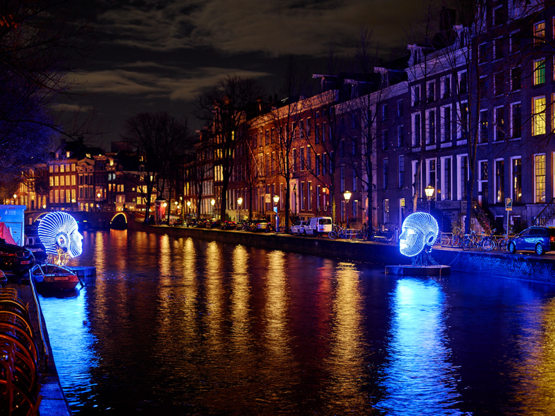Photos From The 20152016 Amsterdam Light Festival  CONTEMPORIST