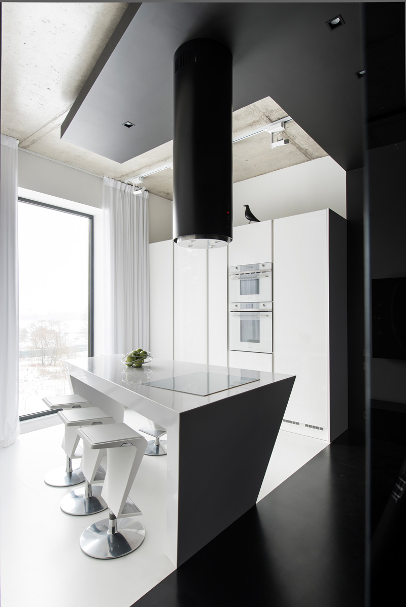 Apartment in Moscow, designed by Geometrix Design