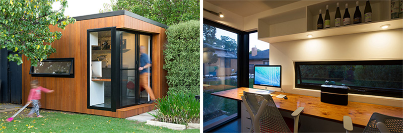 Running out of room inside, here are 7 ideas of what you can build in your backyard