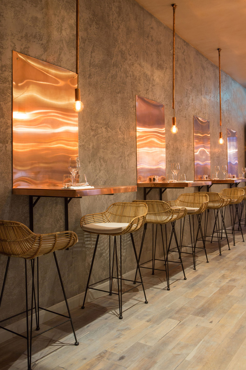 Inside This New Restaurant In London Is A Copper Lovers
