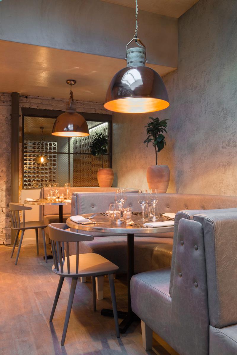 Bandol Restaurant by Kinnersley Kent Design