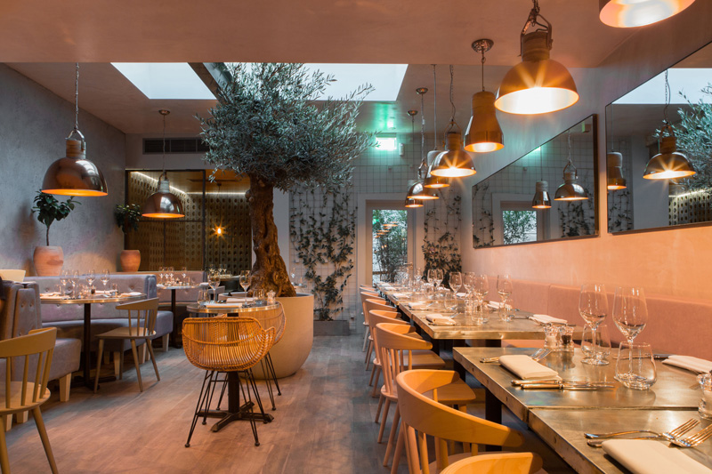Bandol Restaurant by Kinnersley Kent Design