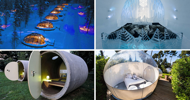 7 Bizarre Yet Beautiful Hotels From Around The World