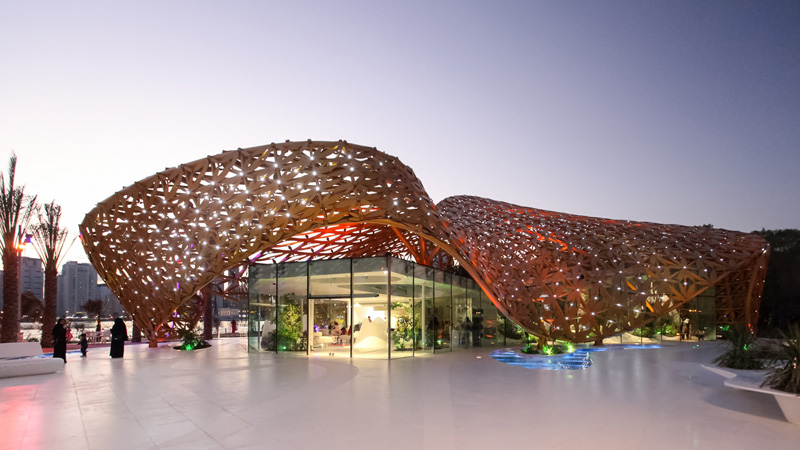 Butterfly Pavilion by 3deluxe