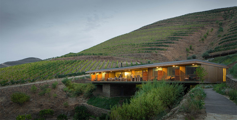 This winery in portugal has opened a small hotel Rio design hotel