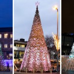 Giant Christmas Trees Have Sprouted Up In London, Budapest And Manchester
