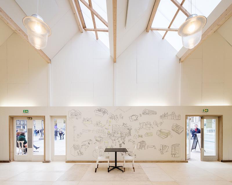Circular Pavilion by Encore Heureux