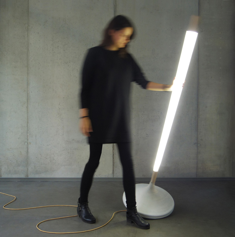 This Floor Lamp Was Inspired By A Childhood Spinning Toy