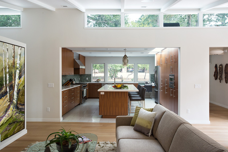 Lafayette Custom Mid Century Modern Remodel by Klopf Architecture