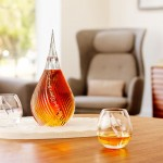 Mortlach whisky has a new teardrop shaped bottle design
