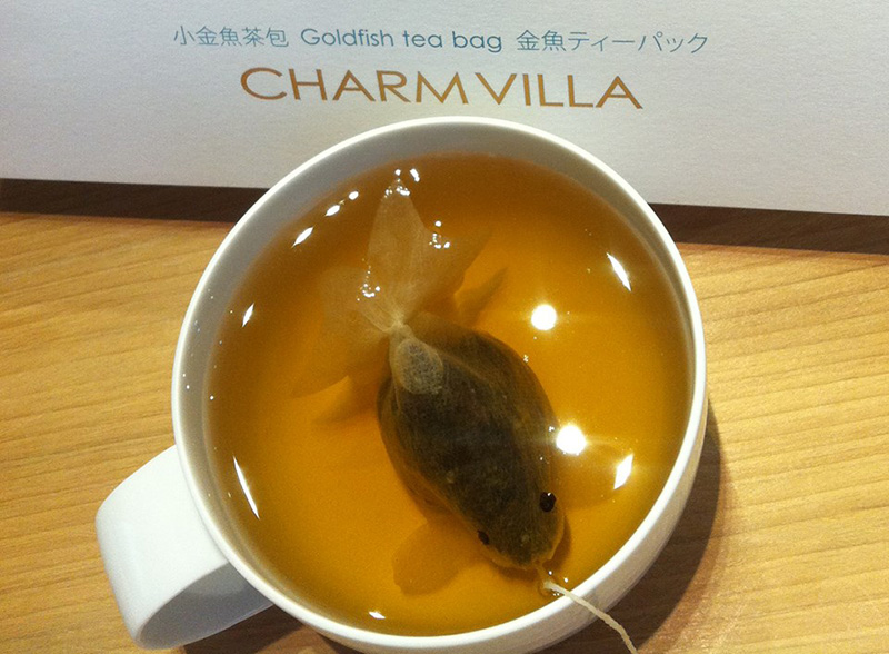 Goldfish Teabags by Charm Villa