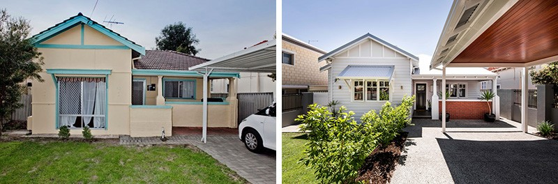 Before Amp After A 1940s Cottage Gets An Updated Look