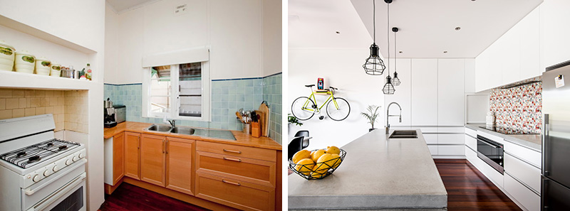 Before & After – A 1940s Cottage Gets An Updated Look