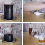 Watch how this ice press makes perfect spheres of ice for cocktails