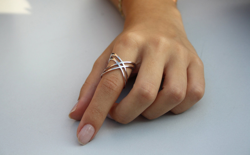 Superb X Ring By Happy Way Jewellery U2013 Available Here.