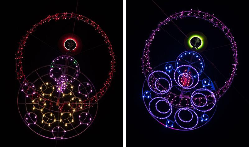 LUX.LGE Light Installation by Ben Busche / Brut Deluxe