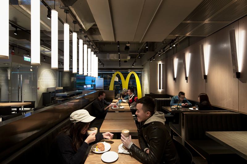 Mcdonalds Interior Design this is the most remarkably modern mcdonald's we've ever seen
