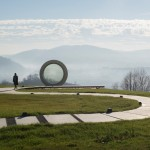 "The ""Broken Landscape"" Memorial Sculpture In Croatia"
