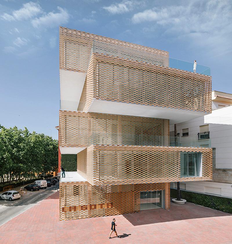 La Gota Cultural Center and Tobacco Museum by Losada Garcia Architects